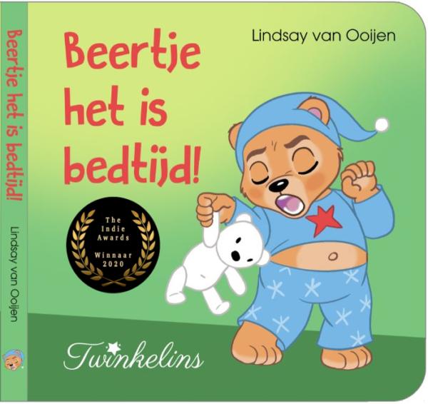 Beertje het is bedtijd! - Lindsay van Ooijen - winnaar The Indie Awards leukste kinderboek 2020